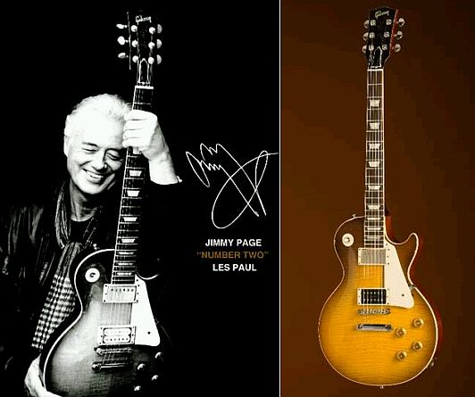 Jimmy Page Telecaster Wallpaper