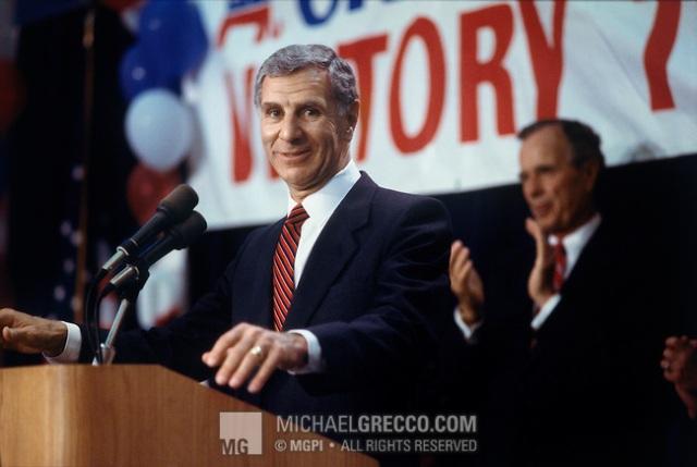 George Deukmejian Campaigning