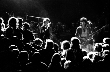 Stones Jagger And  Richards  Eye  Hells Angels At Altamont