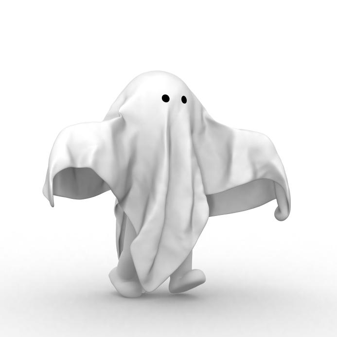 Ghost blogger