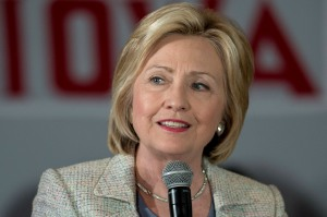 July 26, 2015 - Ames, Iowa, U.S. -  HILLARY CLINTON speaks during an organizing event at the Iowa State University Alumni Center .(Credit Image: © Brian Cahn via ZUMA Wire)